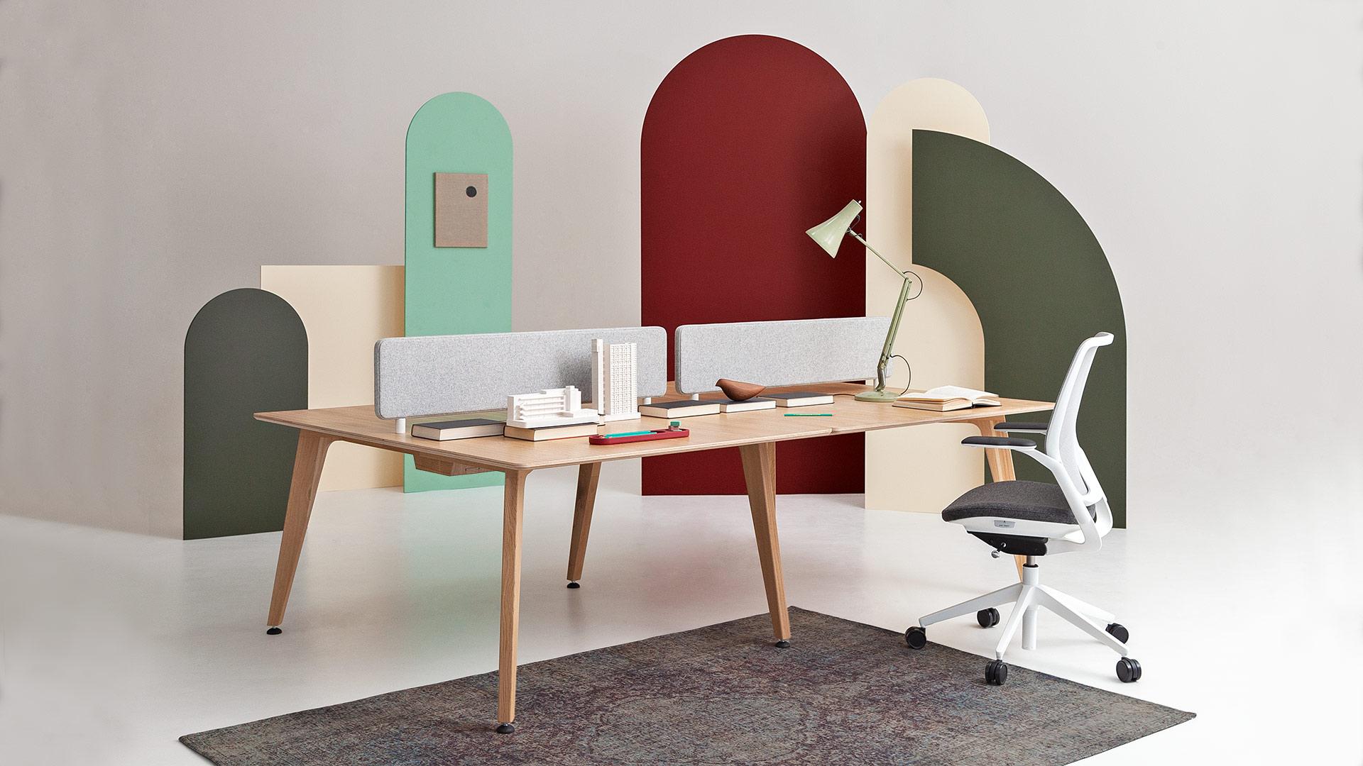 Bench Desk | Office Desk | Desk Benches | Bench Style Desks | British Made