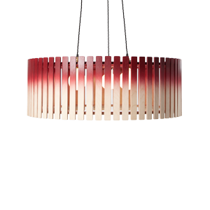 Commercial lighting by Liqui Contracts - The Brixham large drum pendant light